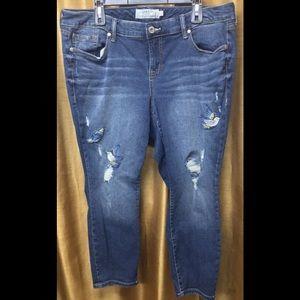 Torrid Ankle Jeans Size 20